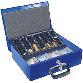 Cashbox 5 geldkistje